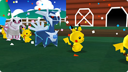 """Everyone's Pokemon Ranch""  Pokemon Farm Wii"